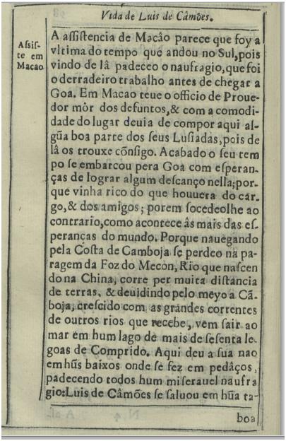 Discursos Varios Politicos p. 98 Vida de Luís de Camões