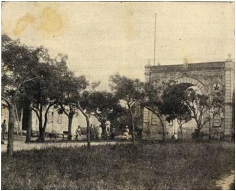 GAZETA COLÓNIAS I-9 9-10-1924 A PORTA DO CERCO