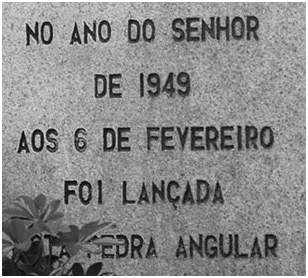 Pedra Angular Colégio D. Bosco 1949
