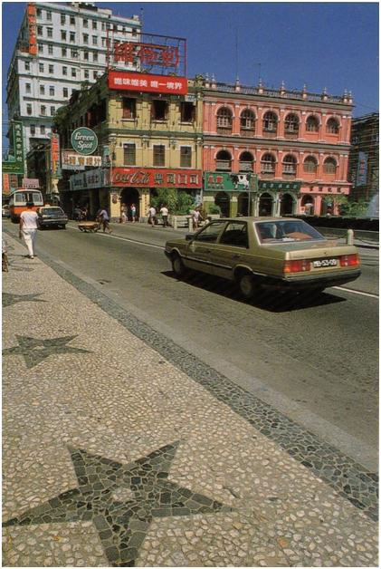POSTAL 1986 Av. Almeida Ribeiro