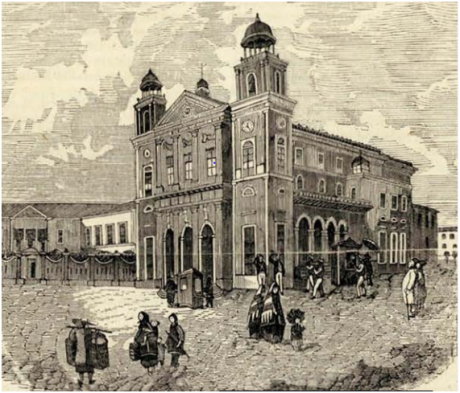 Archivo Pittutesco 1857 - Cathedral de Macau