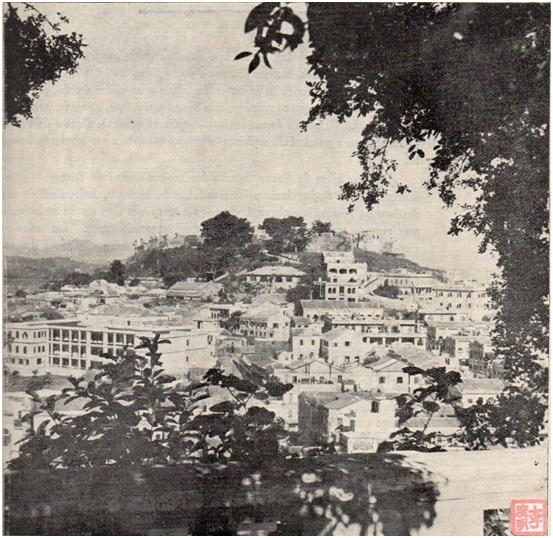 FOTOS DE 1953 - Fortaleza do Monte