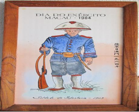 AZULEJOS 1984 Soldado de Infantaria 1903