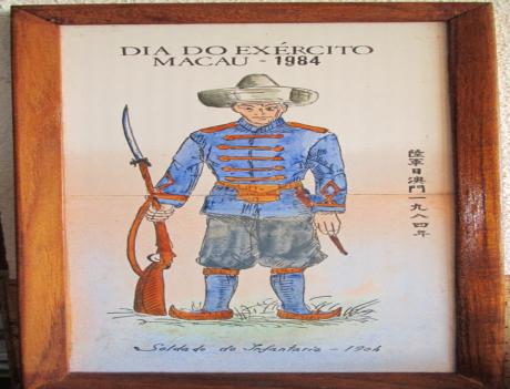 AZULEJOS 1984 Soldado de Infantaria 1904