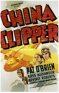 CARTAZ China Clipper 1936