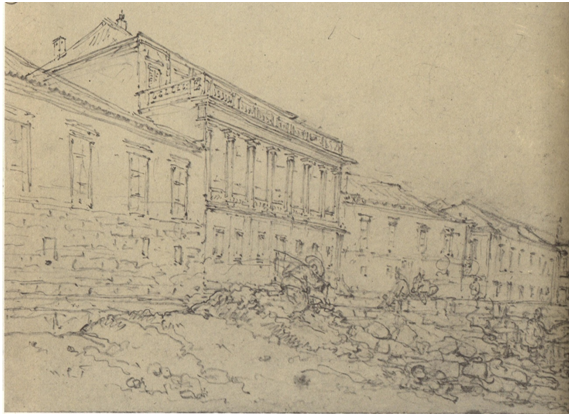 CHINNERY 1840 Palácio das Índias Orientais -Praia Grande