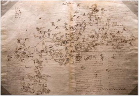 MAPA de Guangdong séc XVI