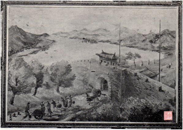 Porta do Cerco quadro século XVI