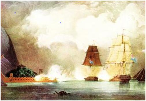 William Skinner - Boca Tigris 1834