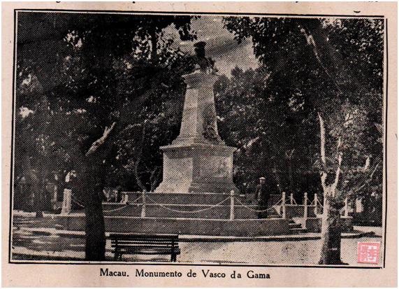 Eudore de Colomban Monumento de Vasco da Gama 1927