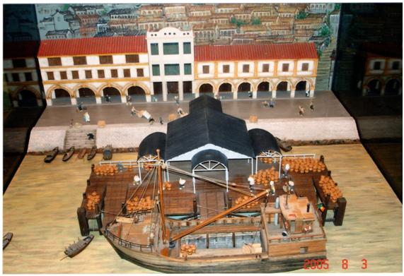 Museu Marítimo - Modelo Porto Interior 2005