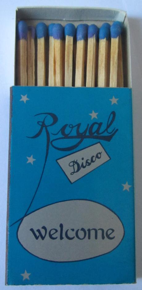Royal Disco fósforos