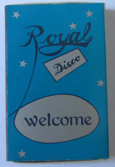 Royal Disco lado azul