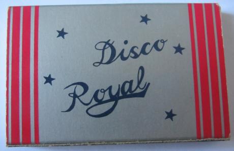Royal Disco lado cinzento