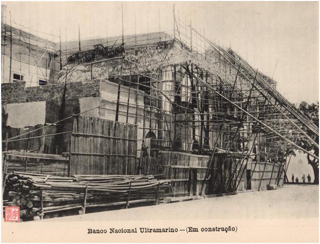 ANUÁRIO de 1927 - BNU em construção
