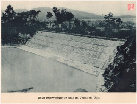ANUÁRIO de 1927 - Reservatório da Colina da Guia