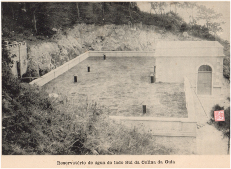 ANUÁRIO de 1927 - Reservatório de Cacilhas
