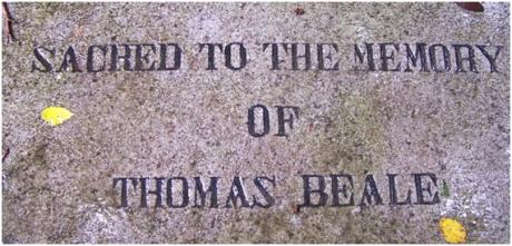 Cemitério dos Protestantes - Thoma Beale