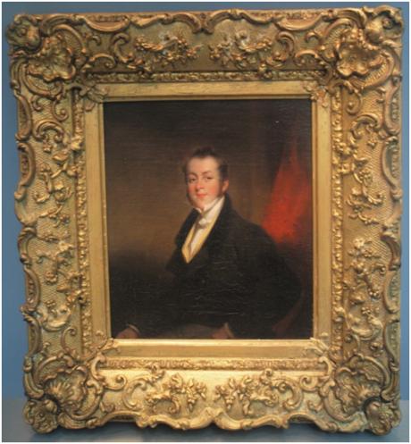 CHINNERY - Retrato de Thomas Beale