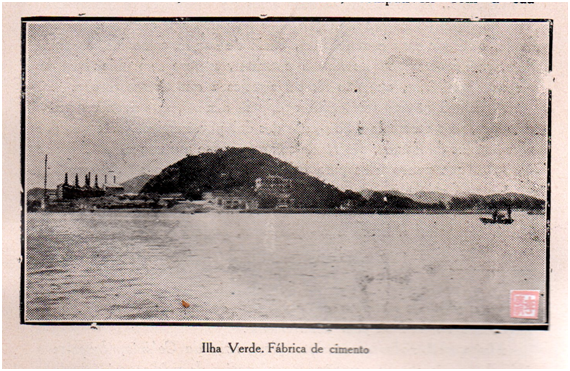 Eudore de Colomban Ilha Verde e Fábrica de cimento 1927