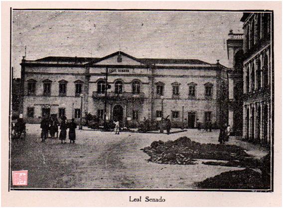 Eudore de Colomban Leal Senado 1927