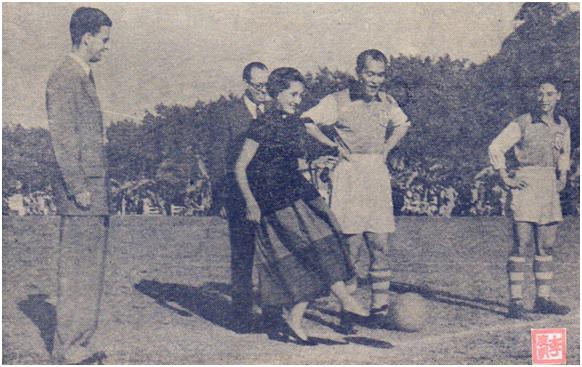 MOSAICO III-17-18 1952 - Desafio de Futebol Rotary Club Macau II