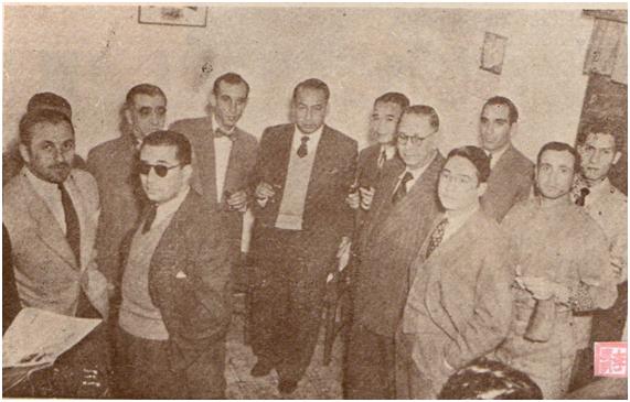 MOSAICO III-17-18 1952 - Inauguração sede SMB I