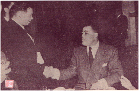 MOSAICO III-17-18 1952 - Joe Louis em HK I