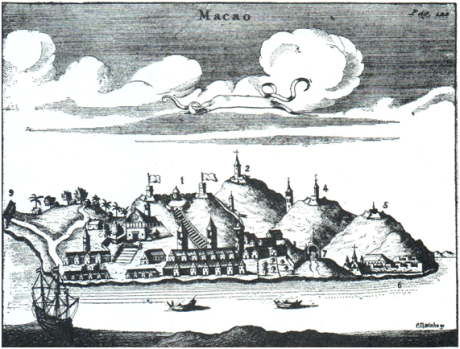 Ta-Ssi Yang-Kuo MAPA Macau sec. XVII »1638
