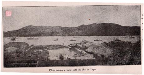 Eudore de Colomban 1927 - Porto Interior e parte leste da Ilha da Lapa