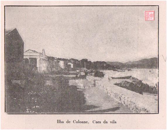 Eudore de Colomban COLOANE 1927 - Caes da Vila