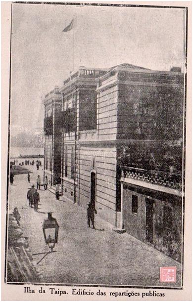 Eudore de Colomban TAIPA 1927 - Edifício das repartições públicas