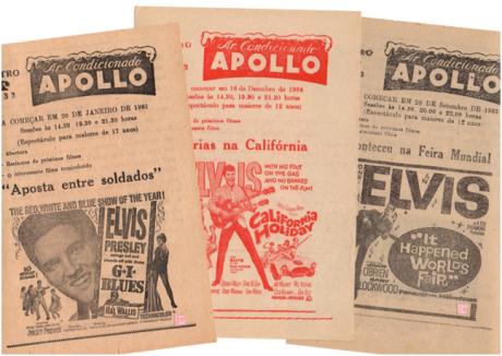Folhetos de Elvis - TEATRO APOLLO