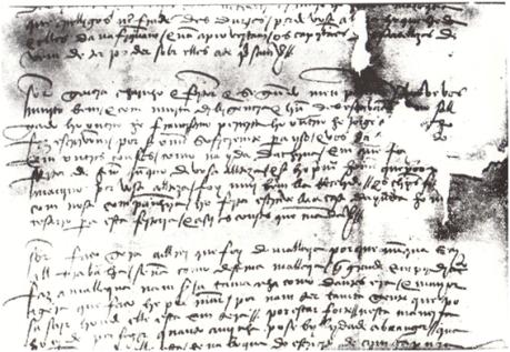 LUÍS KEIL - Jorge Álvares Fragmento da carta