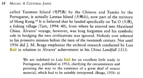 MACAU a Cultural Janus p. 18