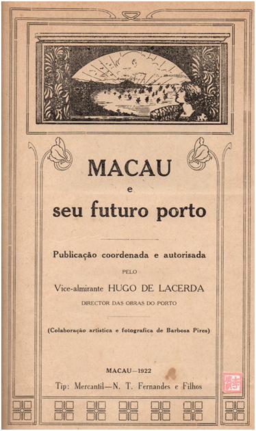 MACAU E SEU PORTO ARTIFICIAL - 1.º Página