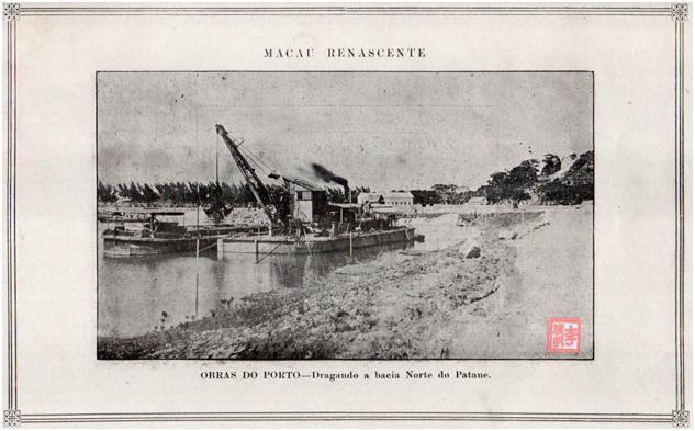 MACAU RENASCENTE - Dragando a bacia Norte do Patane