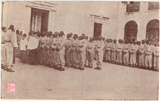 MOSAICO III-17-18 1952 -Baptismo dos Praças Africanos II