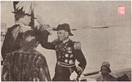 MOSAICO III-17-18 1952 - Visita do Governador a HK I