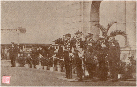 MOSAICO III-17-18 1952 - Visita do Governador a HK IV