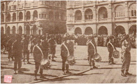 MOSAICO III-17-18 1952 - Visita do Governador a HK V