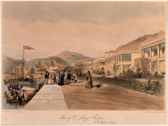 Spring Gardens Hong Kong 1846