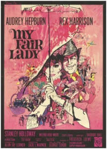 CARTAZ My Fair Lady, 1964