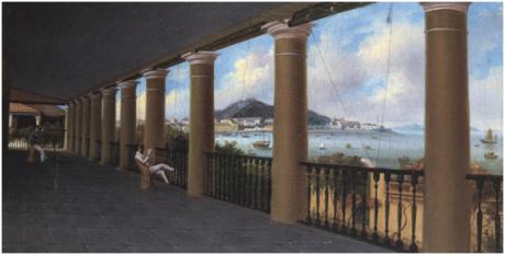 LAM QUA 1843 Praia Grande vista da Varanda de Kinsman