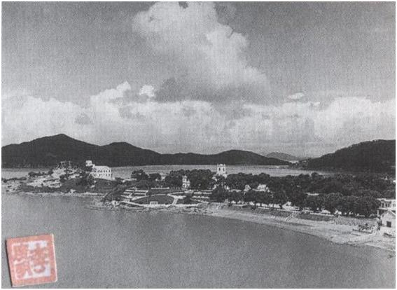ROTEIRO DAS ILHAS TAIPA Vista aérea (década de 50)