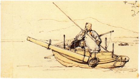 CHINNERY Sampana com tancareira 1834