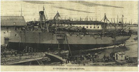 DIARIO ILLUSTRADO 7-8-1897 Adamastor III