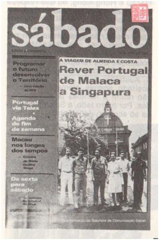 macau 82 -jornal do ano - revista sábado