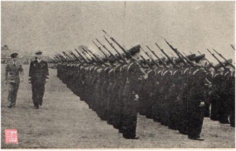 MOSAICO II-9 MAI1951 Demonstração Força Policial II