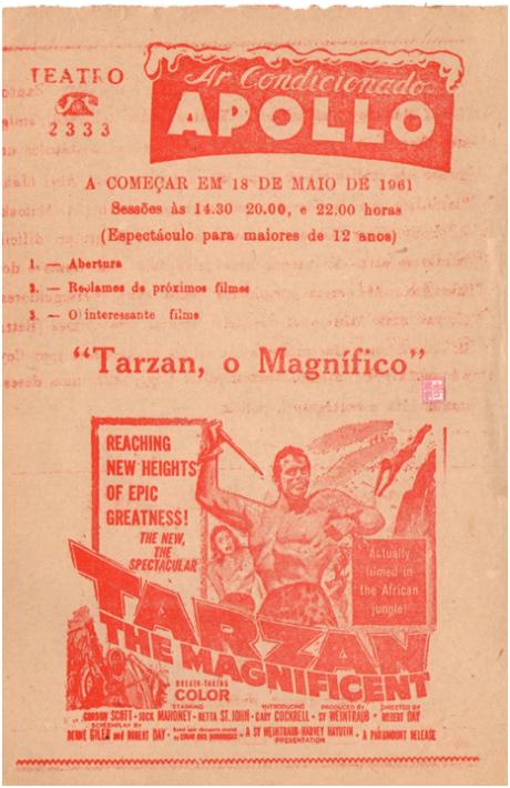 APOLLO 18MAI1961 - Tarzan The magnificent